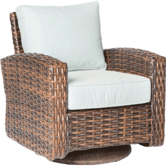 AMALFI DEEP SEATING SWIVEL GLIDER