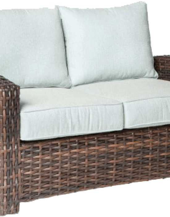 AMALFI DEEP SEATING LOVE SEAT