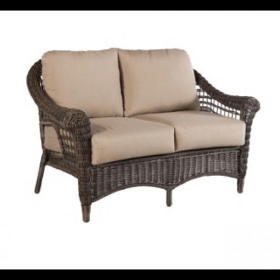 BAINBRIDGE DEEP SEATING LOVE SEAT