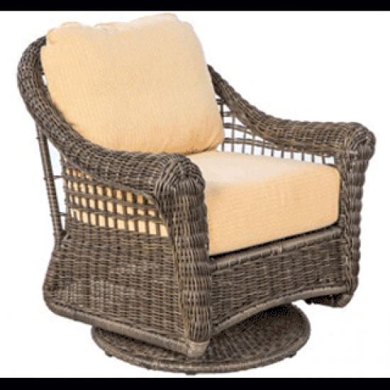 BAINBRIDGE BARK DEEP SEATING SWIVEL GLIDER LOUNGE CHAIR