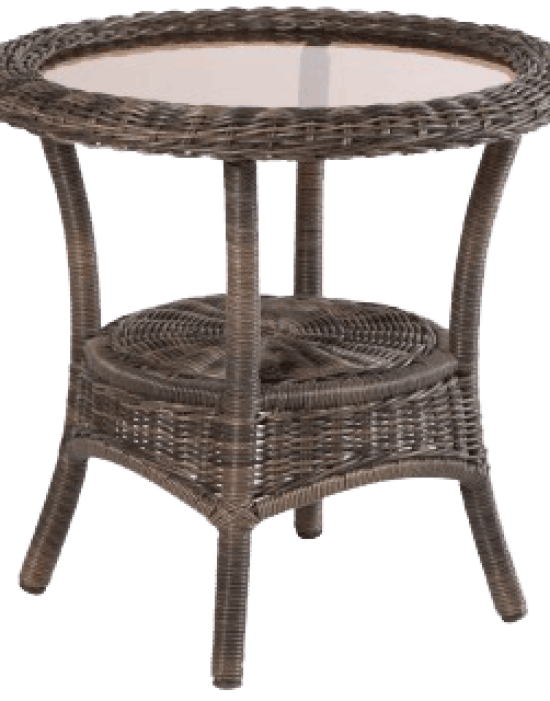 "BAINBRIDGE 24"" ROUND SIDE TABLE"