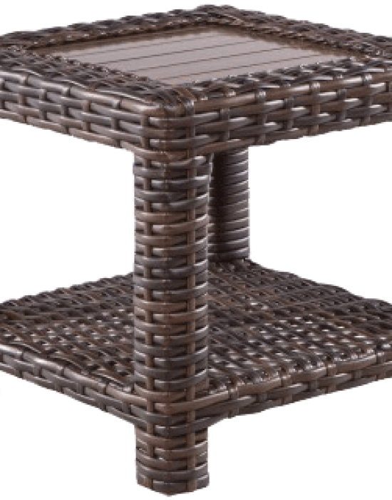 "AMALFI 23.5"" SQUARE SIDE TABLE"
