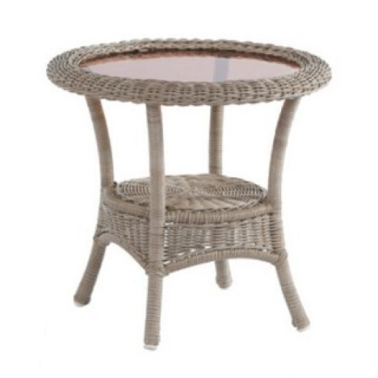 "BAINBRIDGE BREVE 24"" ROUND SIDE TABLE"