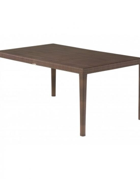 "All-Weather Miami 39"" X 63"" Rectangular Dining Table"