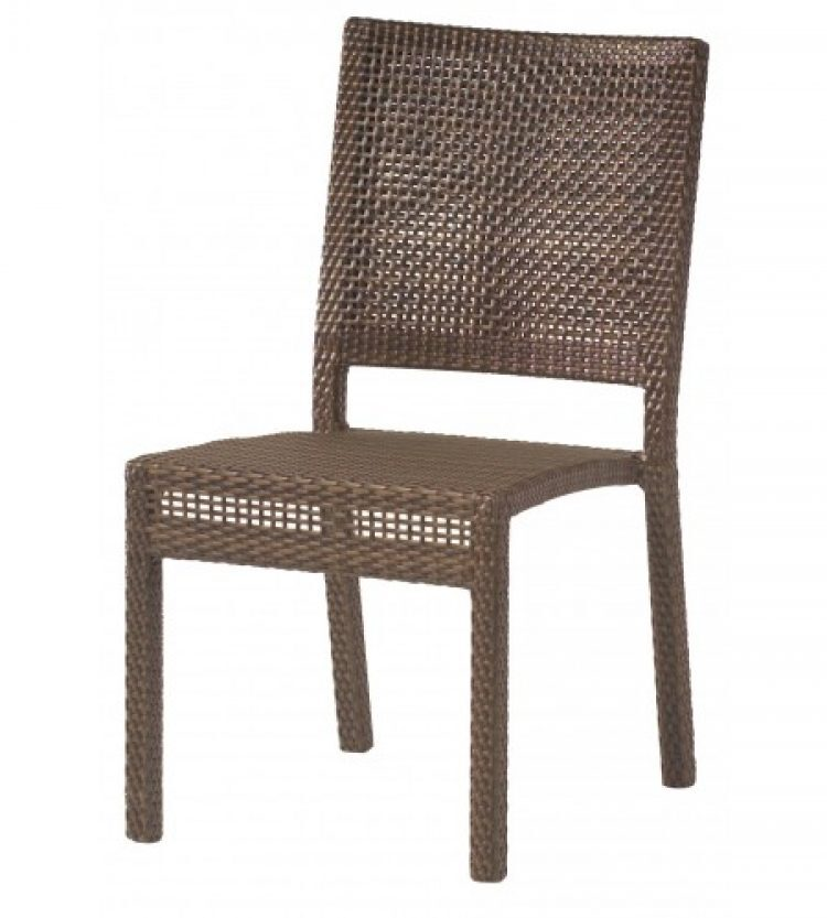 all weather miami dining side chair stackable