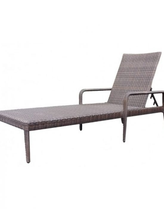 All-Weather Single Adjustable Chaise Lounge