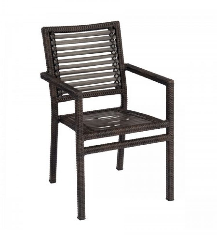 all weather south beach dining armchair