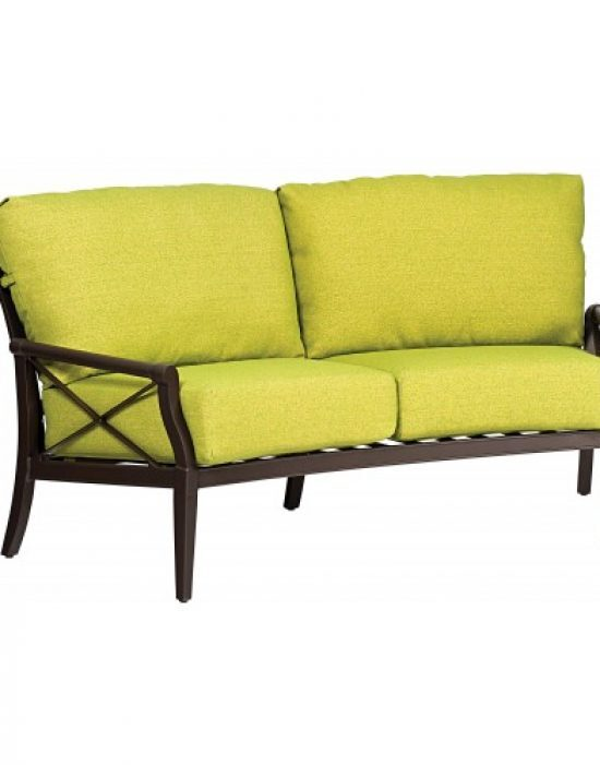Andover Crescent Loveseat
