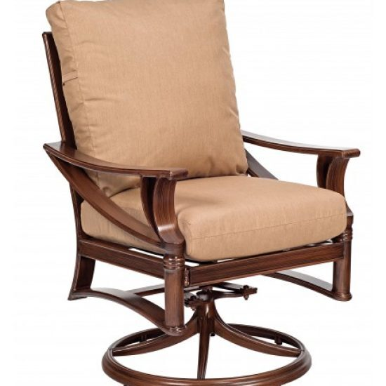 Arkadia Cushion Swivel Rocker