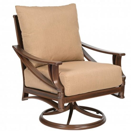 Arkadia Cushion Swivel Rocking Lounge Chair