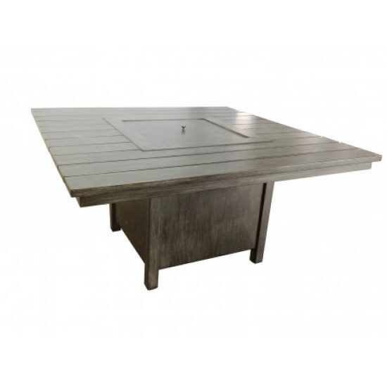 Augusta Woodlands Square Fire Table