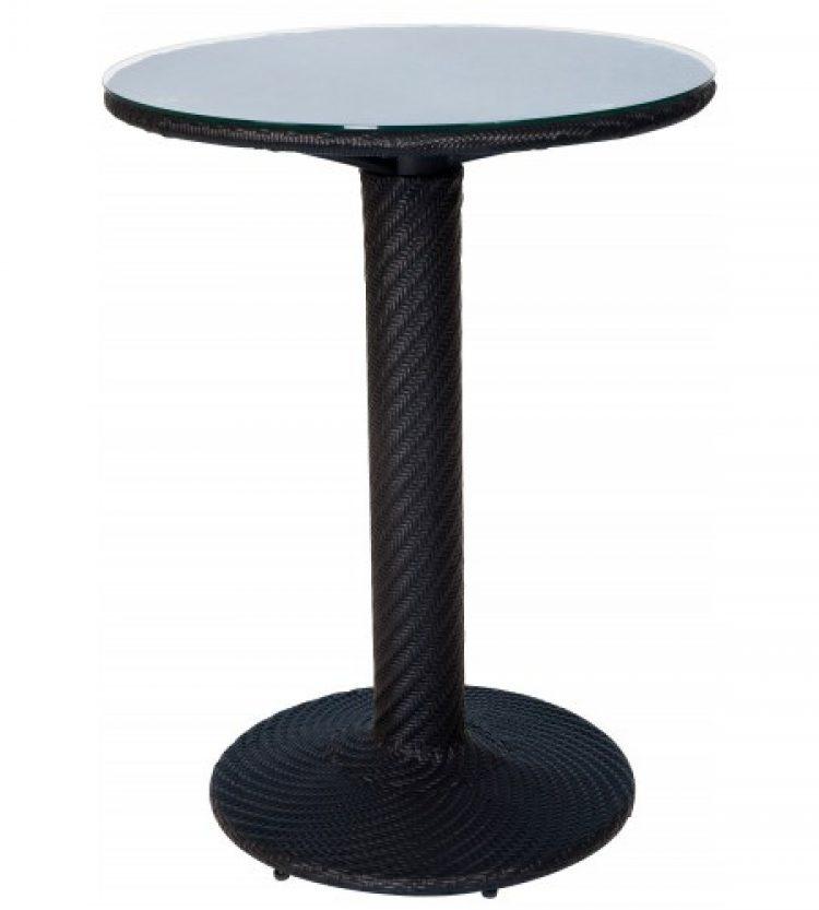 barlow bar height table dark roast
