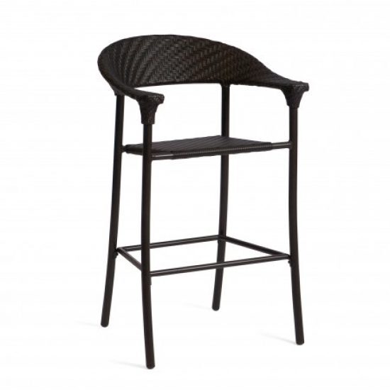 Barlow Stationary Bar Stool - Dark Roast