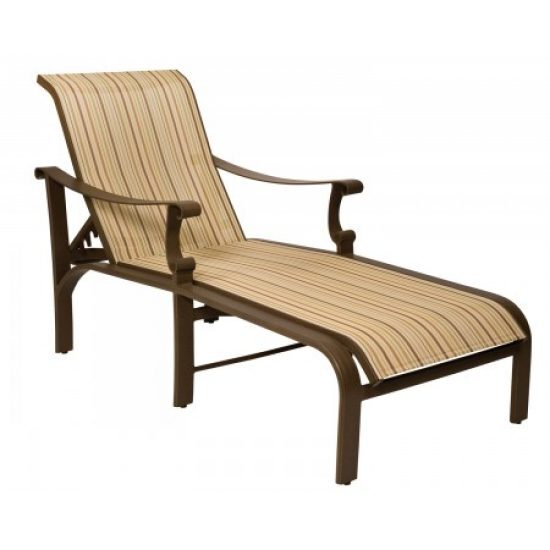 Bungalow Sling Adjustable Chaise Lounge