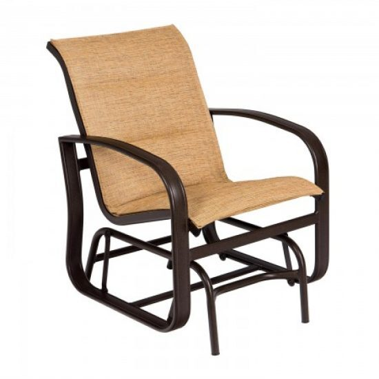 Cayman Isle Padded Sling Gliding Chair