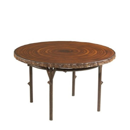"Chatham Run 48"" Heartwood Dining Table With Faux Top"