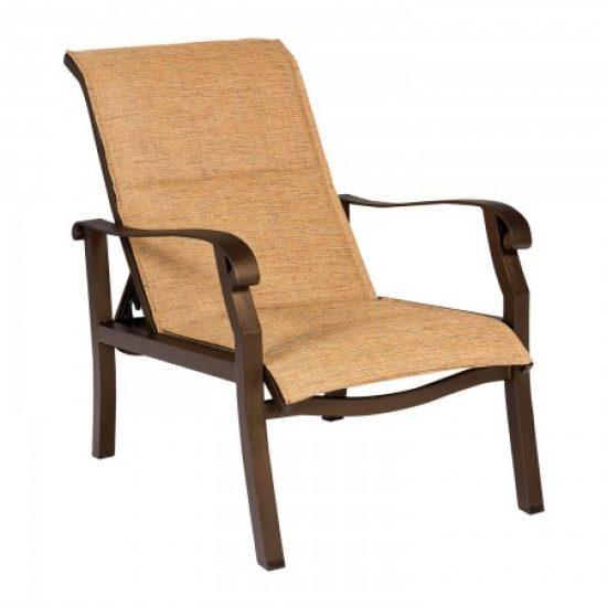 Cortland Padded Sling Adjustable Lounge Chair