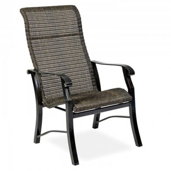 Cortland Round Weave Dining Arm Chair