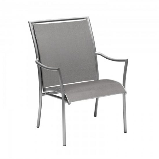 Dominica Sling Dining Arm Chair - Stackable