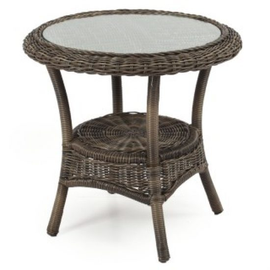 EVERWOVEN UMBRELLA ROUND SIDE TABLE