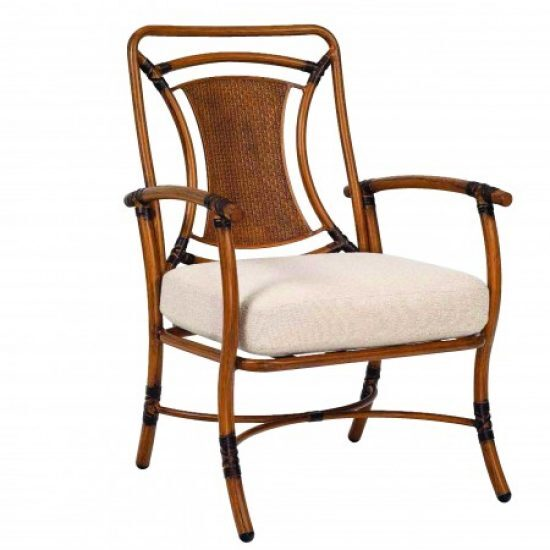 Glade Isle Cushion Formal Dining Arm Chair
