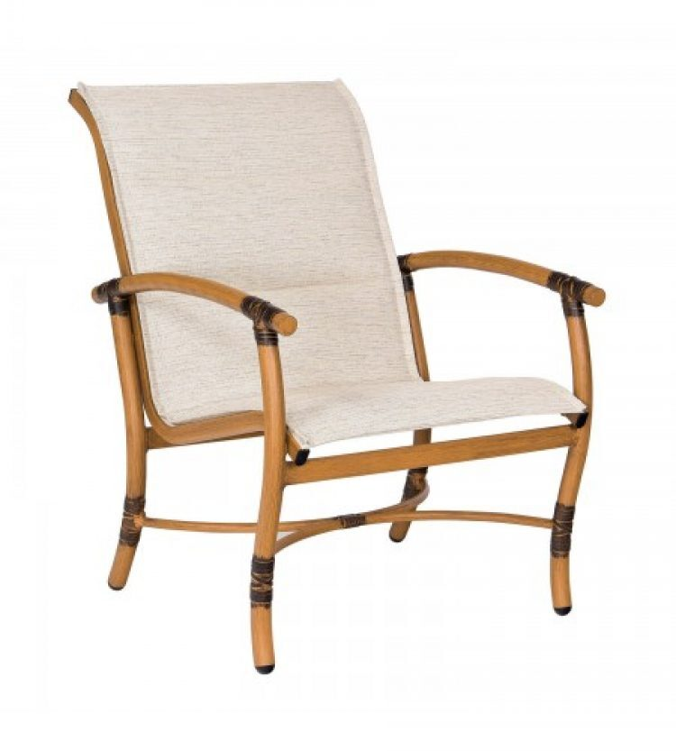Glade Isle Padded Sling Lounge Chair