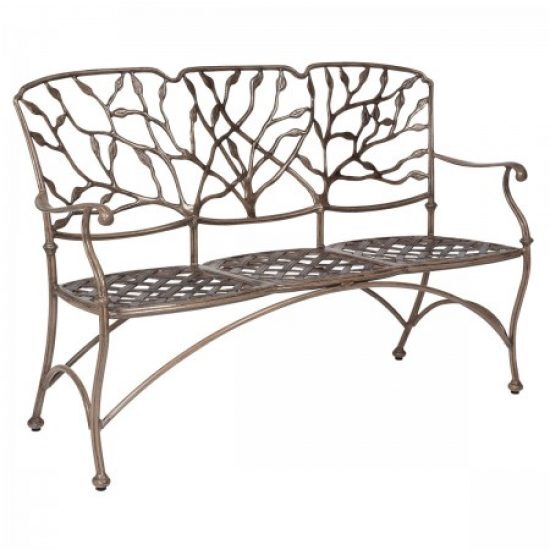 Heritage Three-Seat Bench - Without Cushion