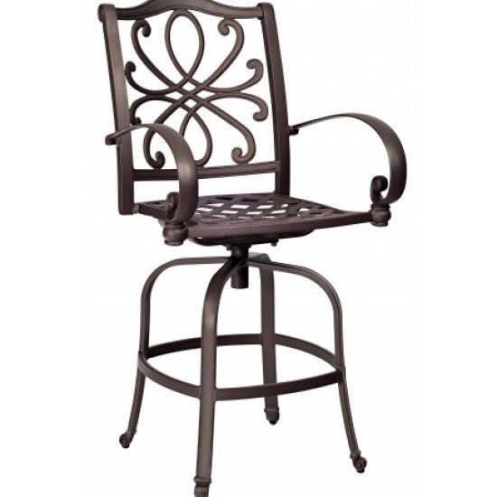 Holland Swivel Bar Stool