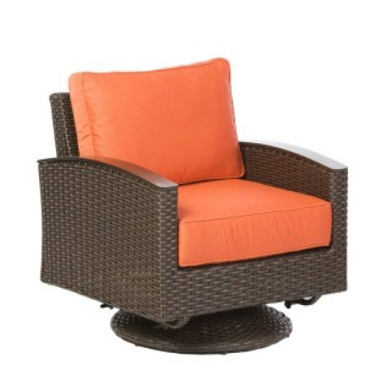 LA LIMA DEEP SEATING SWIVEL GLIDER