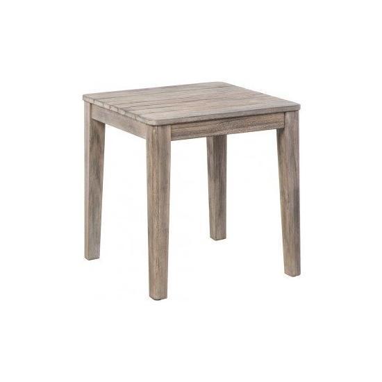 "MALVERN 19.75"" SQUARE SIDE TABLE"