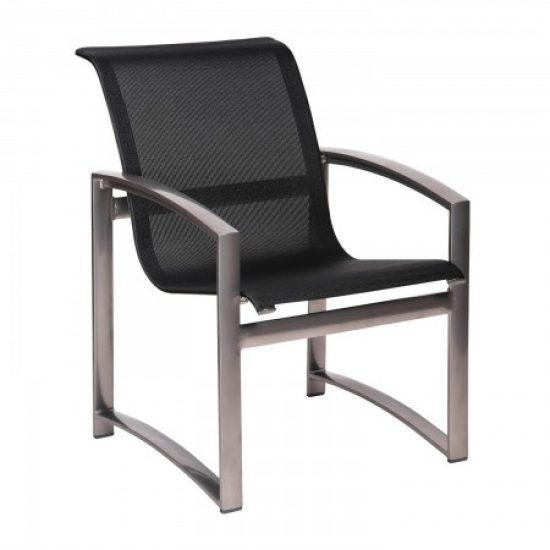 Metropolis Sling Dining Arm Chair