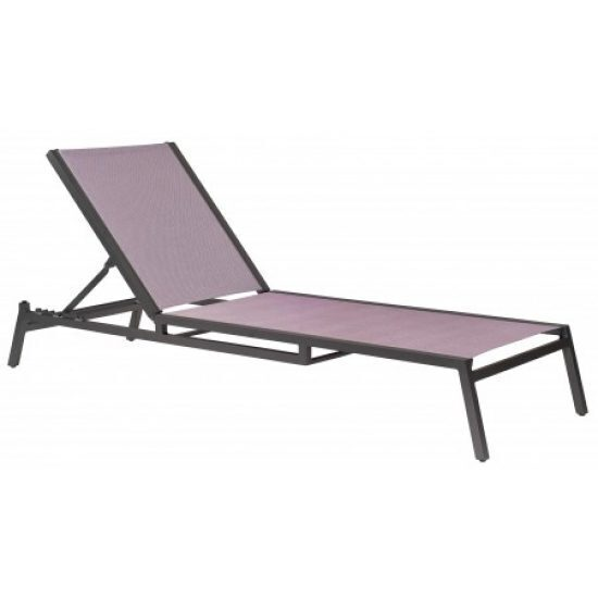 Palm Coast Adjustable Chaise Lounge - Stacking