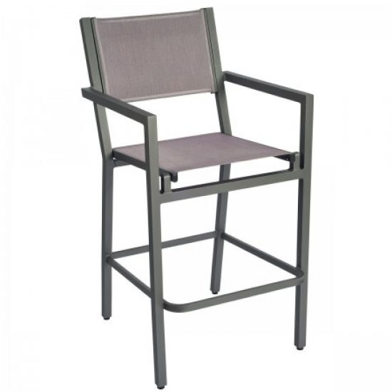 Palm Coast Bar Stool With Arms