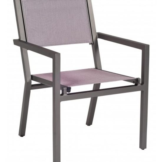 Palm Coast Dining Arm Chair - Stacking