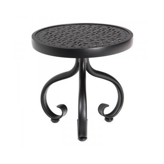 "Ramsgate 18"" Round End Table - Lattice"