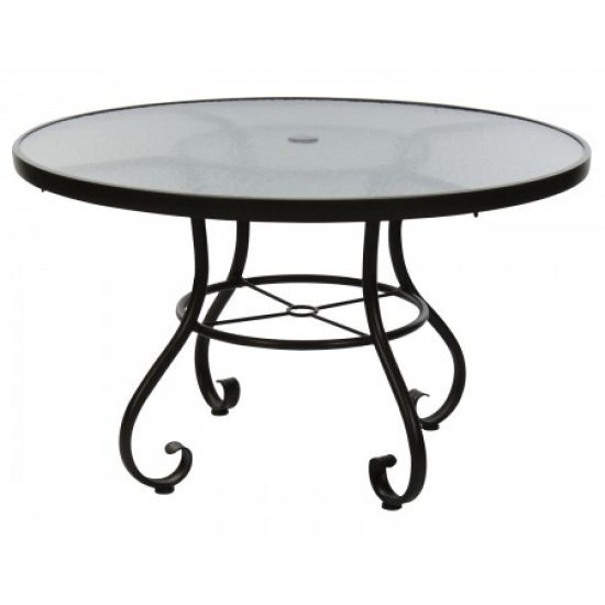 "Ramsgate 48"" Umbrella Table - Acrylic"