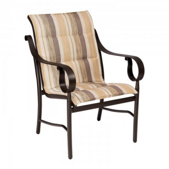Ridgecrest Padded Sling Dining Arm Chair