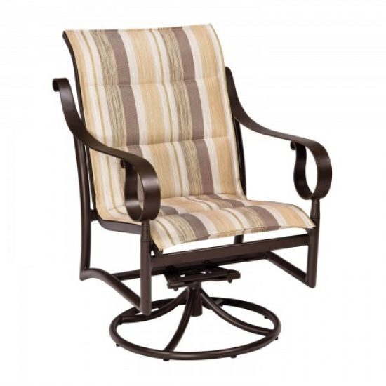 Ridgecrest Padded Sling Swivel Rocker