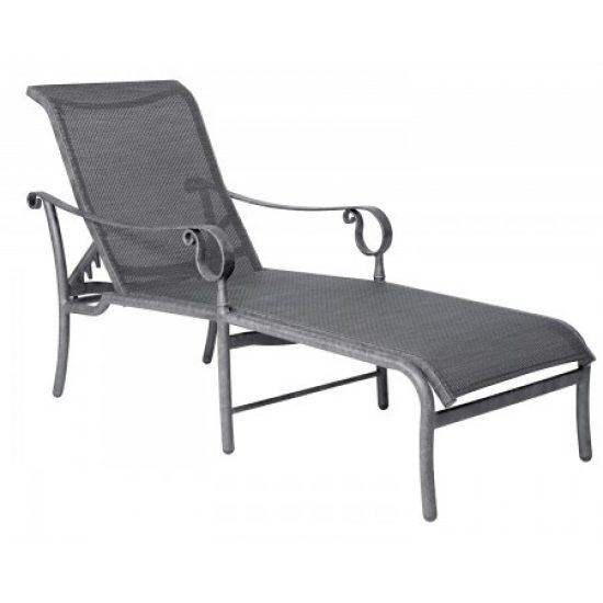Ridgecrest Sling Adjustable Chaise Lounge