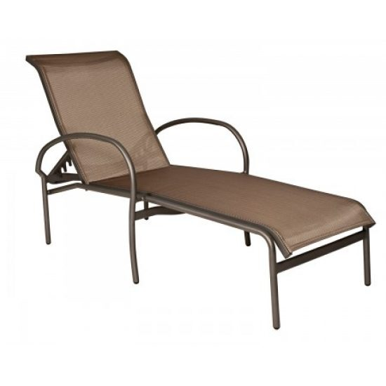 Rivington Sling Adjustable Chaise Lounge - Stackable