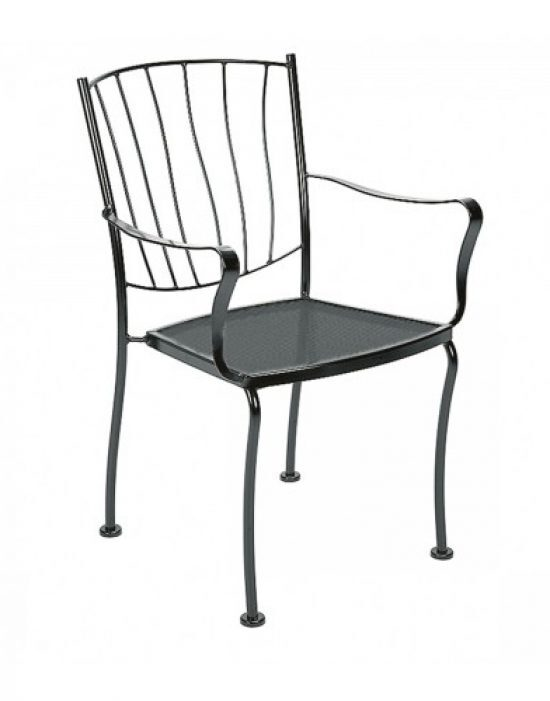 Aurora Dining Arm Chair - Stackable