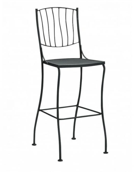 Aurora Stationary Bar Stool - Side