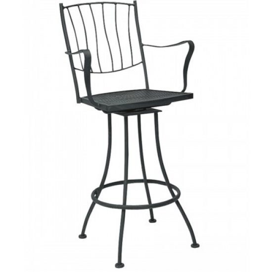 Aurora Swivel Bar Stool - Arm