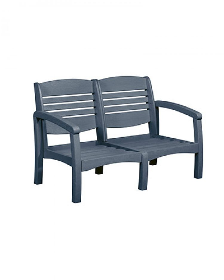 bay breeze coastal love seat frame