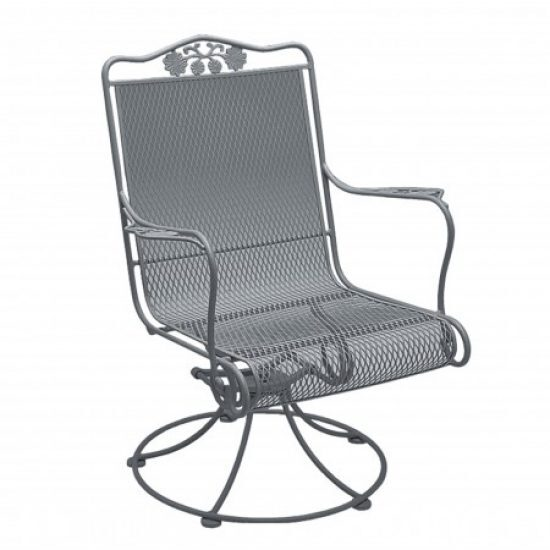 Briarwood High-Back Swivel Rocker