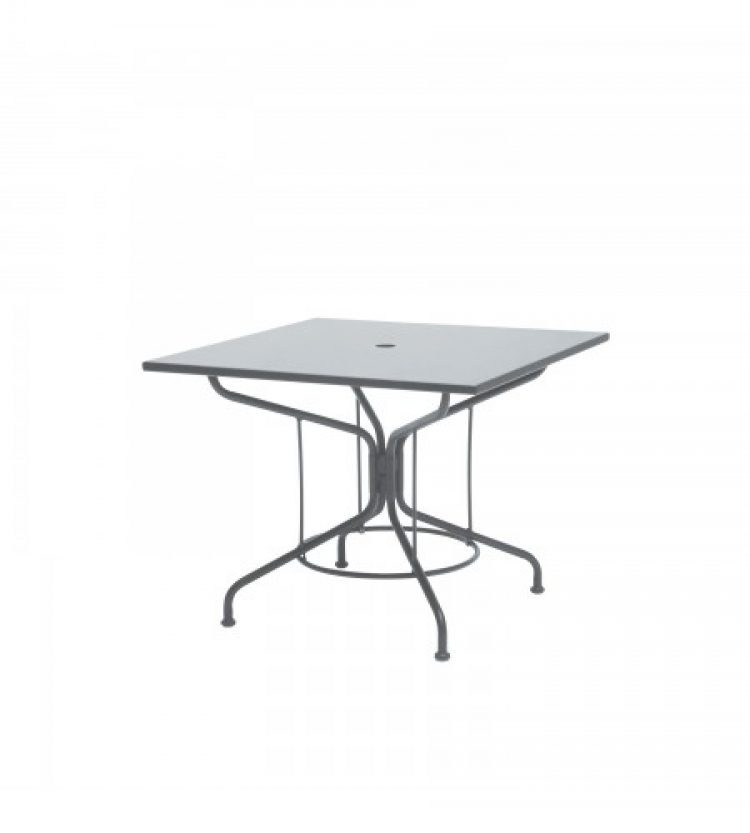 cafe series mercury 36 square solid top umbrella table