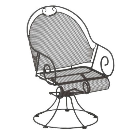 Cantebury Barrel Swivel Rocker