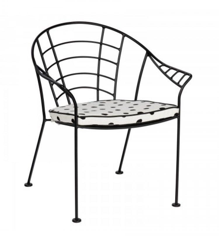 hamilton dining arm chair with optional cushion