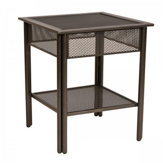 Jax End Table - Micro Mesh