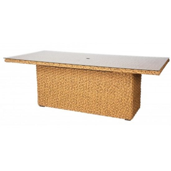"Mona Woven 42"" X 84"" Rectangular Dining Table"